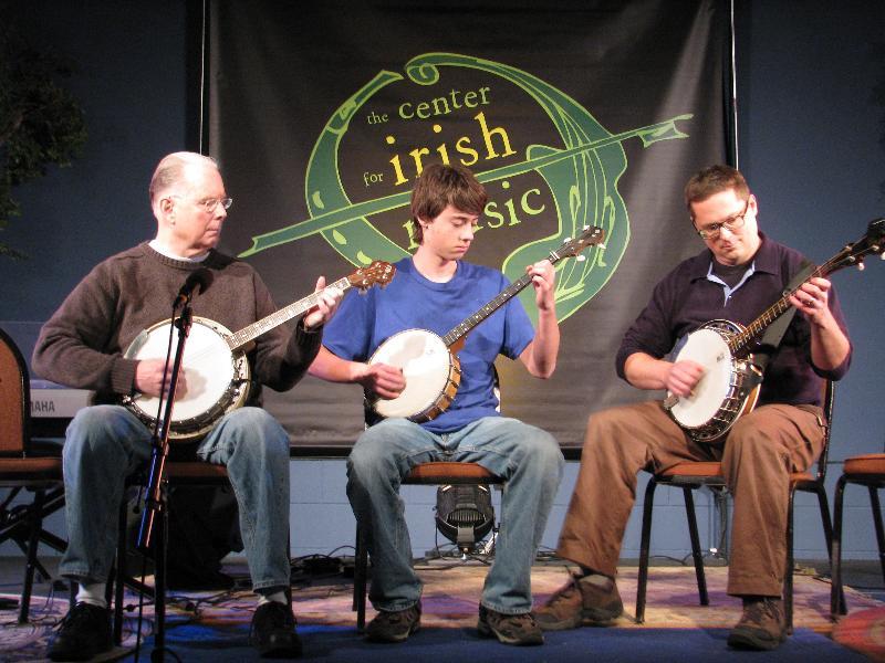 Banjoes at recital