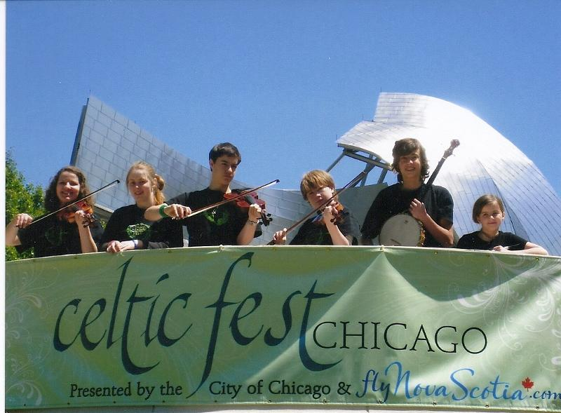 Youth ensemble in Chicago