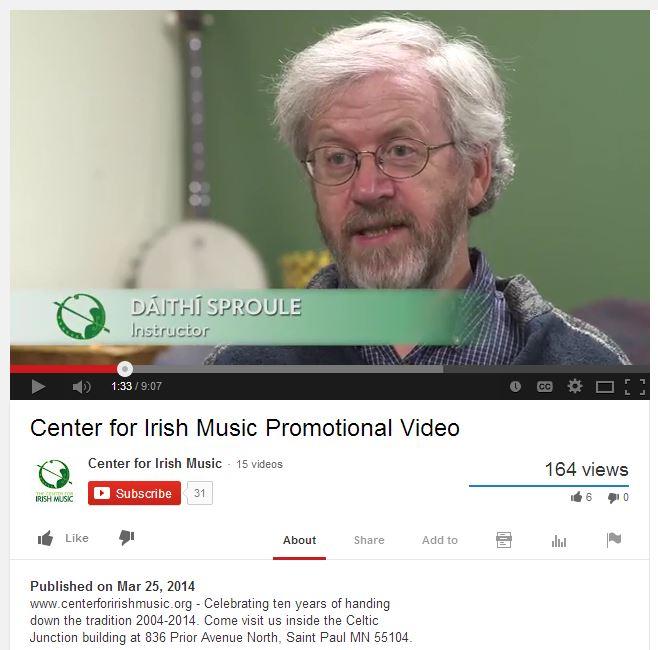 Promo video screen shot