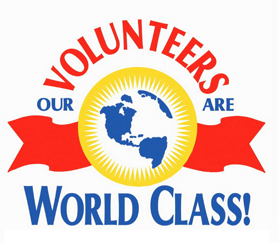 Volunteers Are World Class