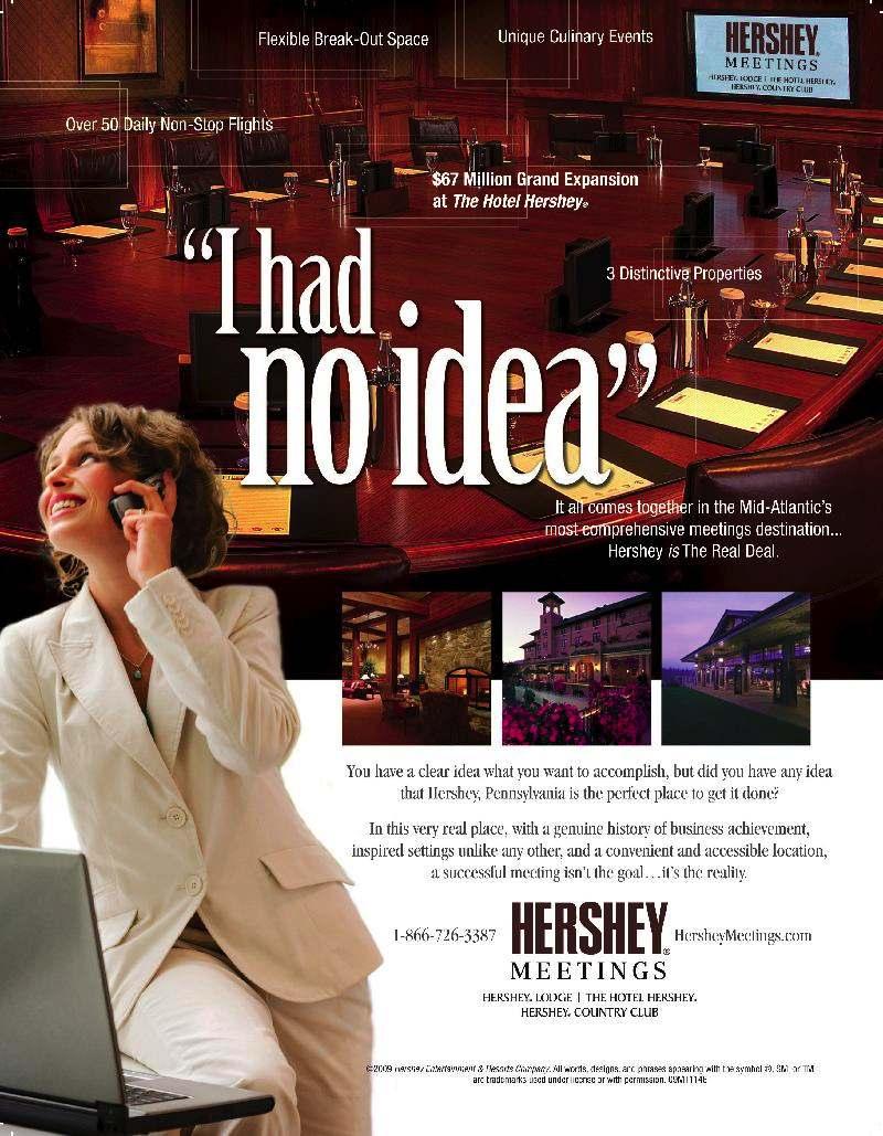 Hershey Meetings Ad