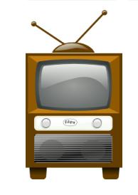 Antique TV Image