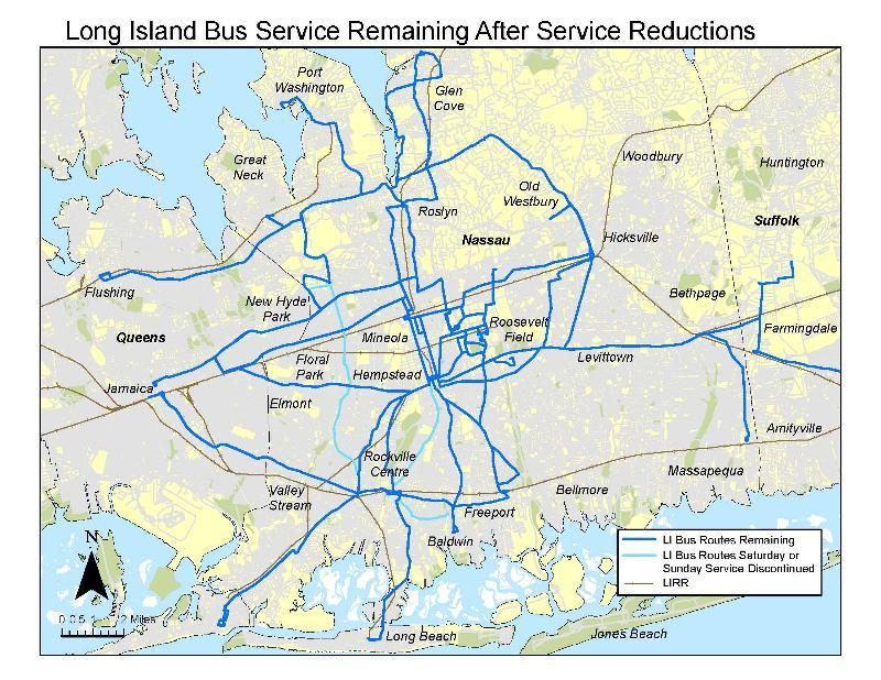 LI Bus cuts