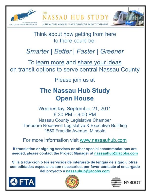 Flyer Nassau Hub