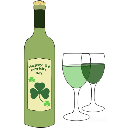 St Pat Bottle