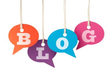 blog sign