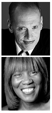 John Waters and Patricia Smith