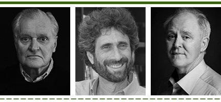 John Ashbery, Mitchell Kaplan, John Lithgow