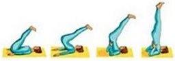 pics of yoga shoulder stand