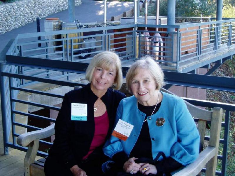 Carol Levine & Connie