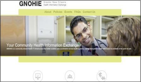 GNOHIE home page 9.17.12