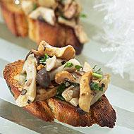 Mushroom Bruschette