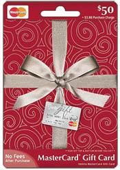 MasterCard $50 gift card