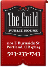 The Guild Pub, located at 1101 East Burnside Street in Portland