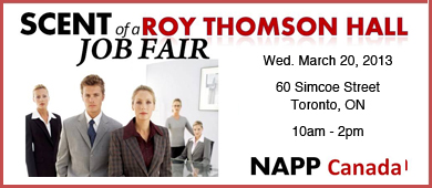 NAPP Canada Job & Training Fair- Toronto