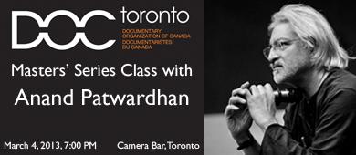 DOC Toronto Anand Patwardhan