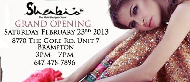Shabi's Brampton Grand Opening
