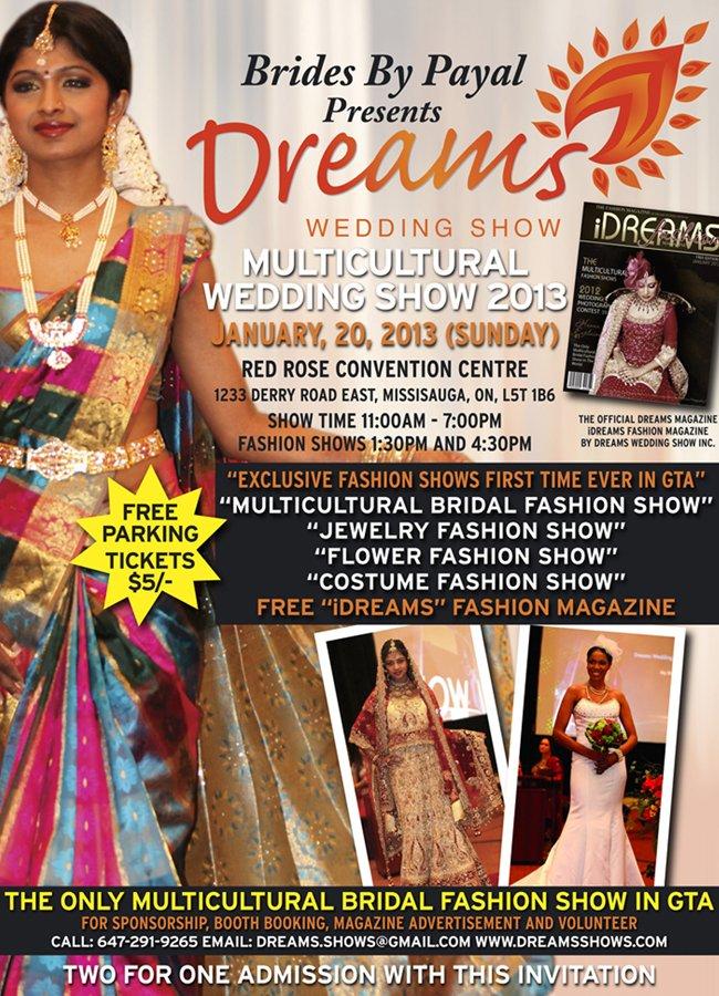 Dreams Wedding Show 2013