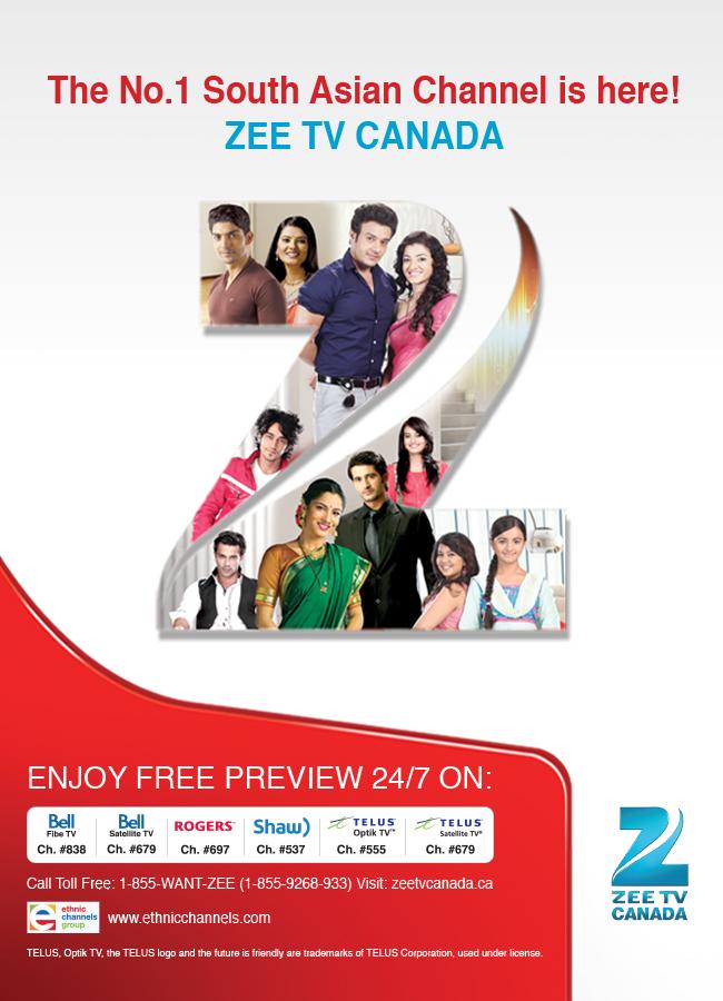 Zee TV Canada Phase II