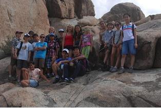 Grade 7 Rock Climbing Trip