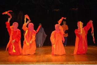 7th Grade Eurythmy Performance 2012