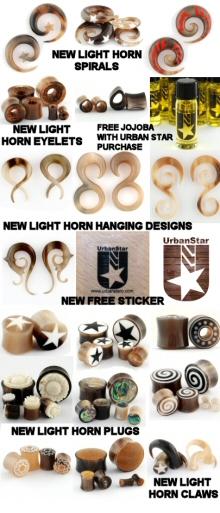 New Light Horn Jewelry
