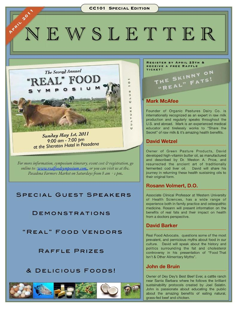 Special Event Newsletter