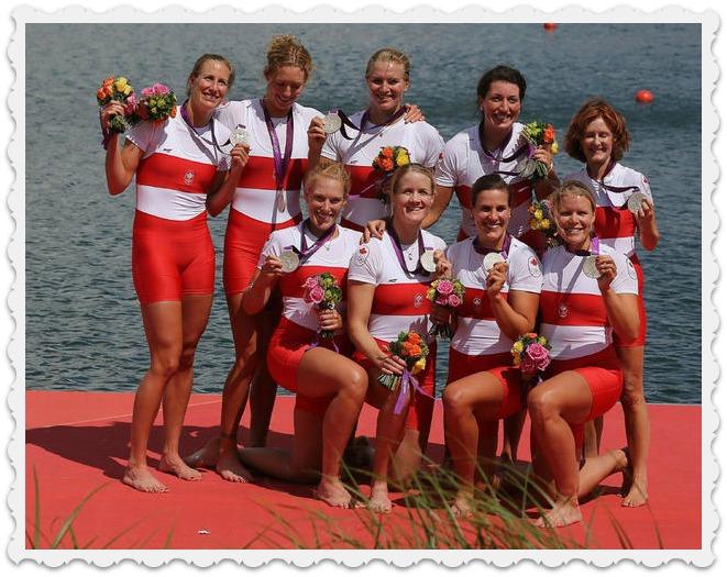 Women's eight Rowing Win