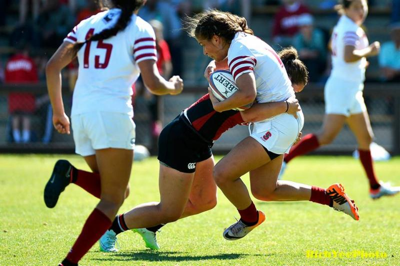 Stanford women's rugby - 2015 - Rich Yee