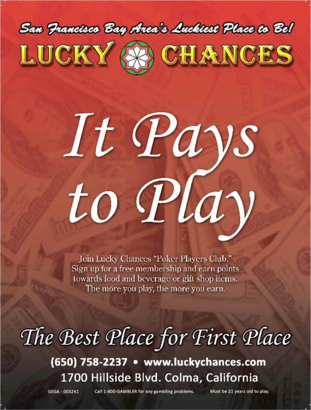 Lucky Chances - 2014