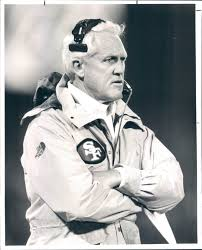 Bill Walsh - b & w