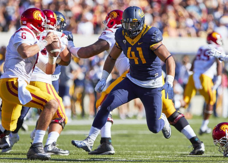 Cal vs. USC - 10-31-15 - Ron Sellers