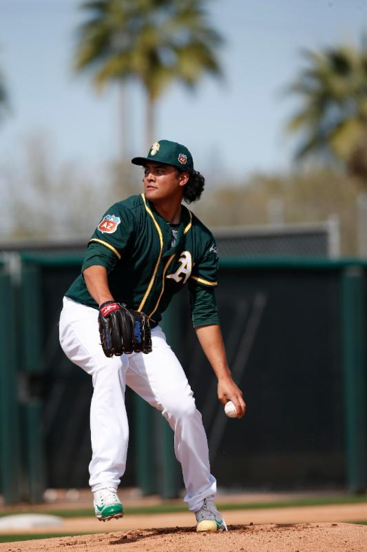 Sean Manaea - 2-16 - Michael Zagaris