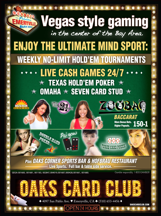 Oaks Card Club - 2014