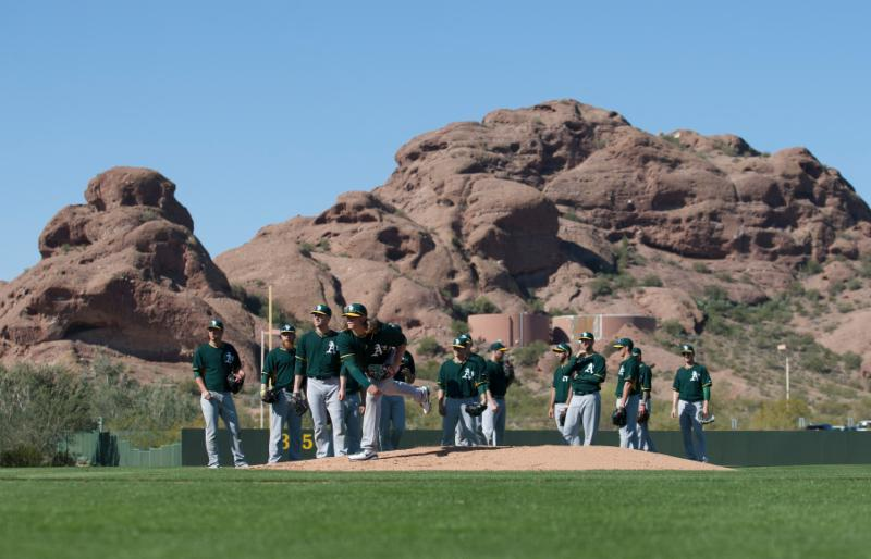 Oakland A's - spring training - 2014