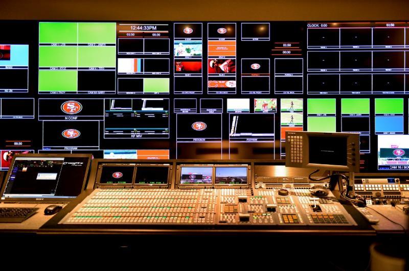 Levi's Stadium - control panel