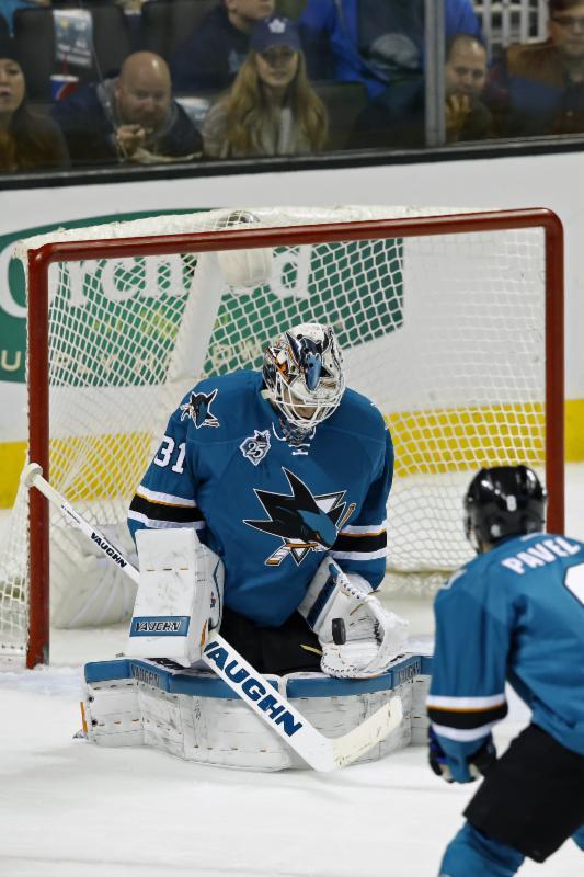San Jose Sharks - 1-9-16 - Darren Yamashita