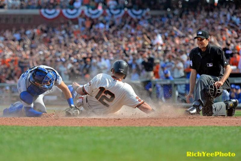 SF Giants - Joe Panik - 4-18-16 - Rich Yee