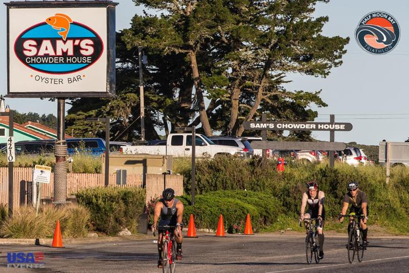 Half Moon Bay Triathlon - 2016 - Larry Rosa