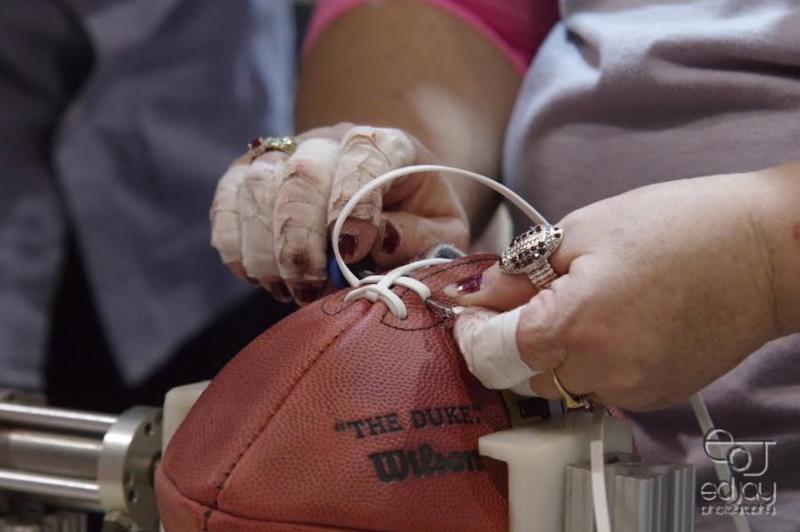 Wilson footballs - 2-6-16 - Ed Jay