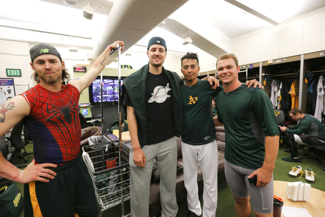 A's clubhouse - 5-31-15 - Z man