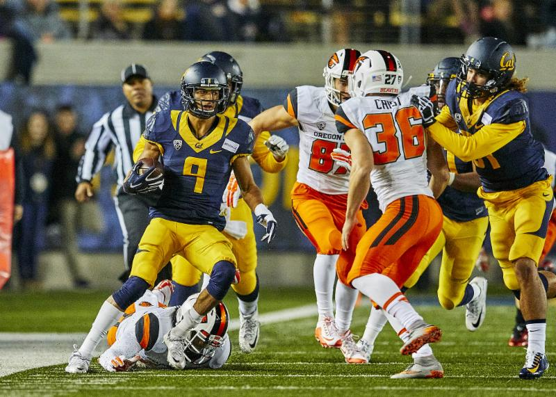 Cal v. Oregon State - 11-14-15 - Ron Sellers