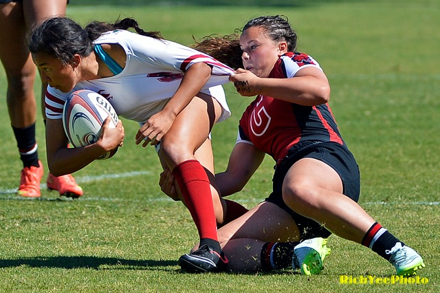 Stanford women's rugby - 4-2015 - Rich Yee
