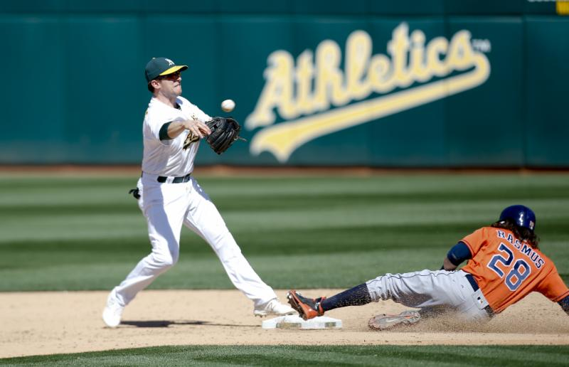 A's - 4-30-16 - Michael Zagaris