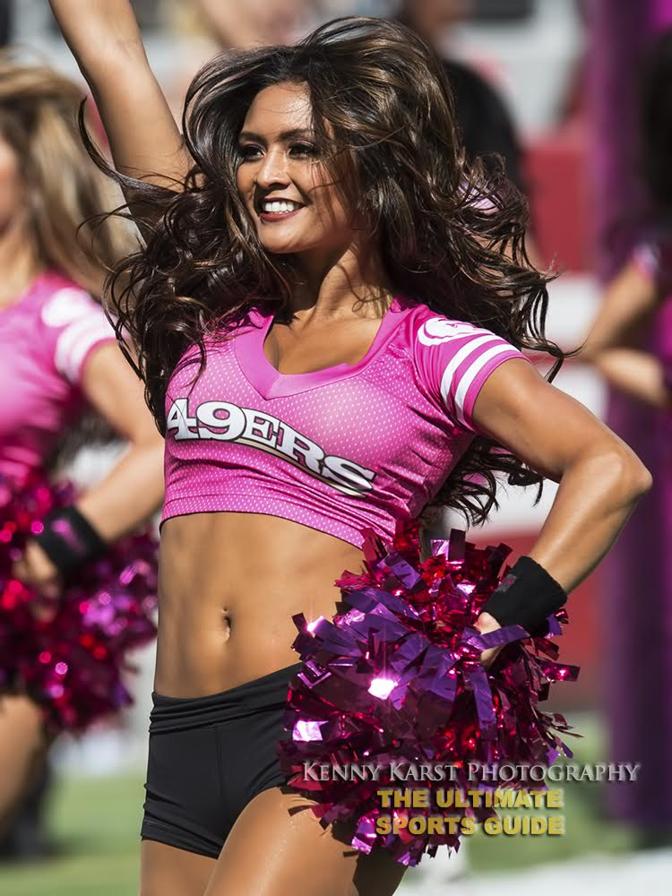 49ers Cheerleader - 6-13-16 - Kenny Karst