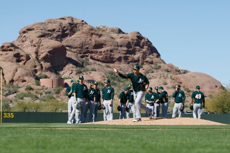 A's Spring Training - 2014