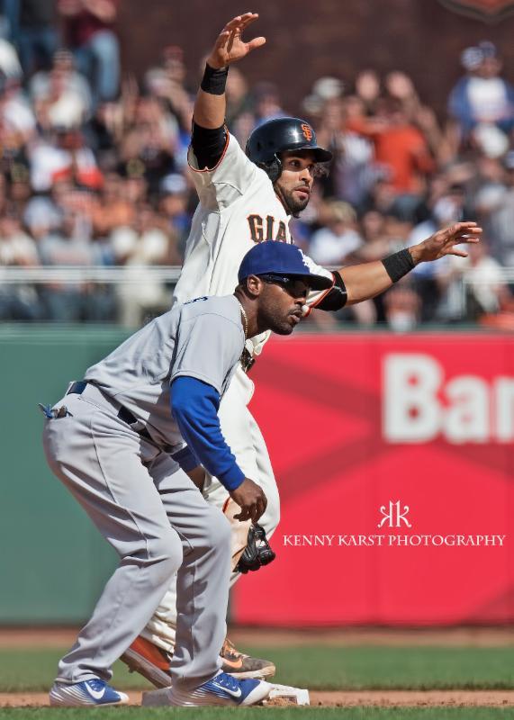 Giants v. Dodgers - 4-15 - Kenny Karst