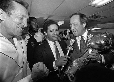 Pete Rozelle and Al Davis