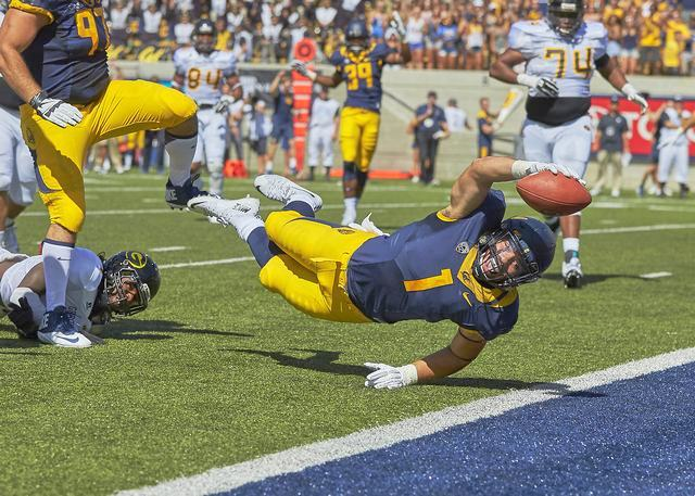 Cal vs. Grambling - 9-5-15 - Ron Sellers