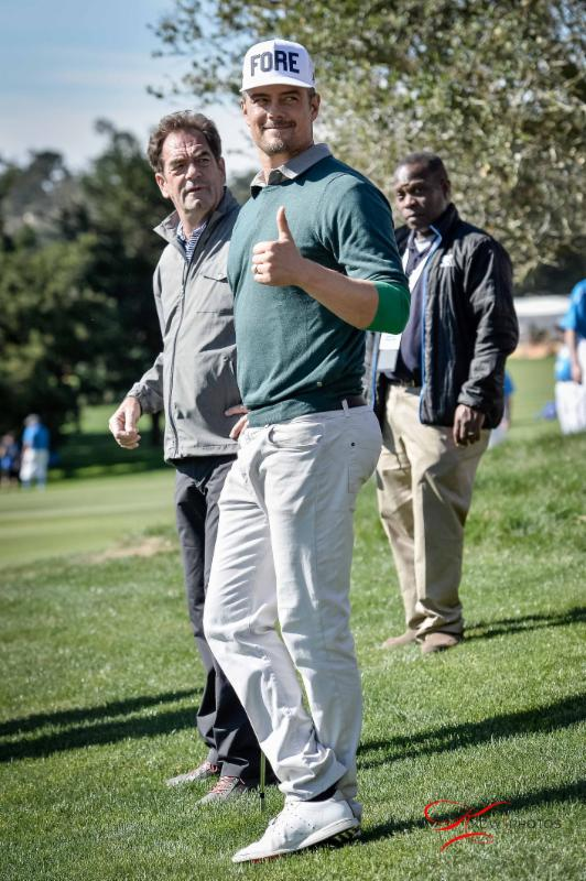 Pebble Beach - Josh Duhamel - 2-11-16 - Kenneth Wong